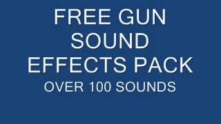 gun sound effects pack + download link