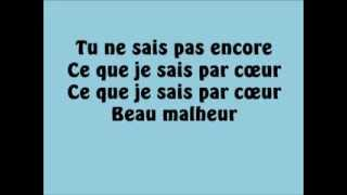 Emmanuel Moire - Beau Malheur (Paroles)