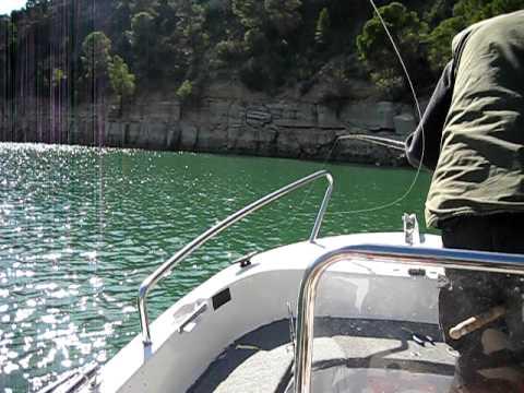 Zanderfischen in Spanien 2009