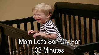 Mom Lets Infant Son Cry For 33 Minutes To Make Him Sleep Young Fam Full Ep Prt 3 | Supernanny USA