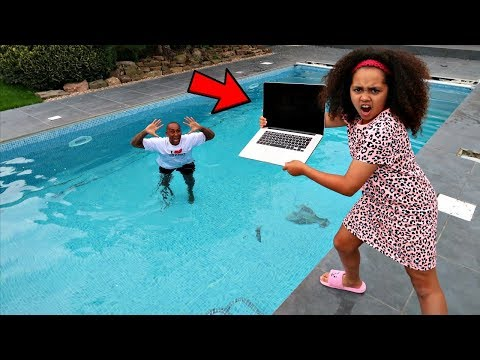 Xxx Mp4 DAD 39 S MACBOOK PRO IN OUR SWIMMING POOL PRANK 3gp Sex