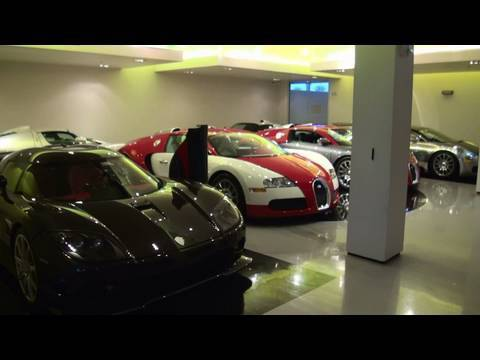 1080 Supercar collection in detail Bugatti Veyron Enzo Ferrari Koenigsegg Gemballa Mirage GT