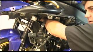 How To Change Spark Plugs on Yamaha R1 - R1Videos.com