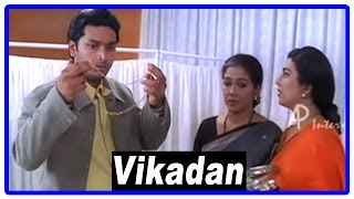 Vikadan Tamil Movie | Scenes | Harish Raghavendra tie the knot to Uma at hospital