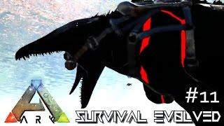 ARK: SURVIVAL EVOLVED - NEW POOP BABY & BIONIC MOSASAURUS !!! E11 (MODDED ARK MYSTIC ACADEMY)
