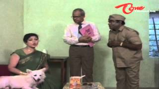 Hilarious Scene Between Y Vijaya - Babu Mohan