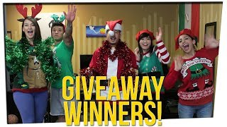 12 DAYS OF GIVEAWAYS WINNERS ANNOUNCEMENT!