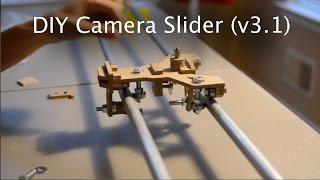 DIY Camera Slider v3.1 - Shapeoko Project #30