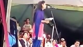 Huma Bijnori on Love Jihad... Saharanpur Mushaira 2014