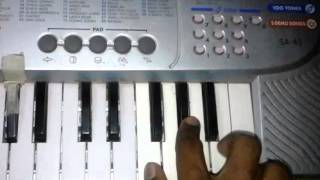 Khanderayachya lagnala |lagnageet|song on keyboard