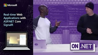 Real-time web applications with ASP.NET Core SignalR