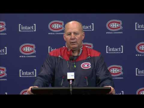 Julien: Haven't talked to Therrien but I will