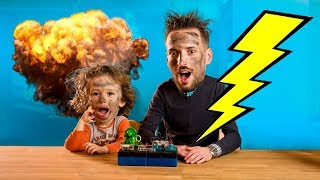 Per FEMIJE vjen Gertiti dhe Loja e Telit | GERTIT vs BUZZ Wire Game CHALLENGE-Try not to Laugh KIDS!