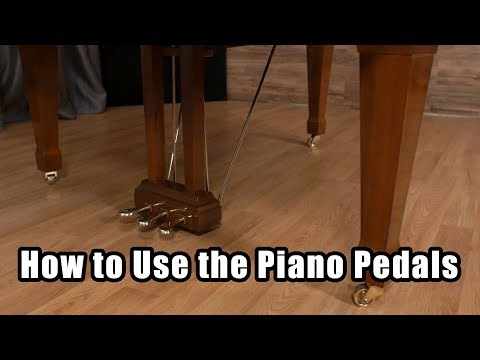 How to Use the Piano Pedals 2 Vs. 3 Piano Pedals What do the Piano Pedals Do
