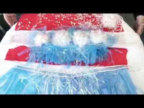 Reciclaje Económico Disfraz de Fantasía. Fancy Dress Recycling Plastic Bags.