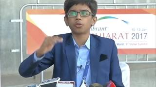 Teen bags $ 733,000 deal to design anti-landmine drones in western India
