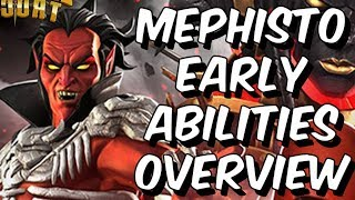 Mephisto: Early Abilities Overview & Theorycrafting - Marvel Contest Of Champions