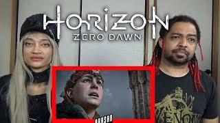 Horizon Zero Dawn -Story Trailer PS4 | REACTION & DISCUSSION
