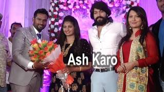 Rocking Star Yash & Radhika in Suni Marriage