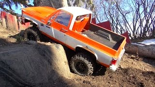 Download RC ADVENTURES - My 1976 Chevy K5 Blazer 4x4 (No Canopy) Crawling Backyard Trail Course 3Gp Mp4