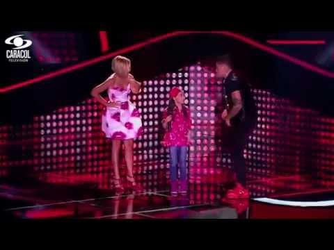 Valentina cantó '¿Y si hacemos un muñeco De Anderson LVK Colombia Audiciones a ciegas T1