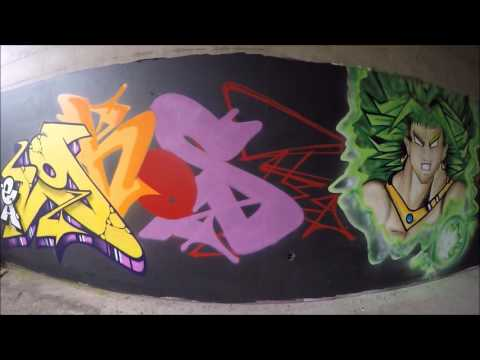 Graffiti Ghost EA & Skema RSK Rise Of The RSK