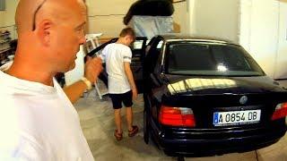 Подписчик подарил BMW 320i Юному Перекупу [4k Ultra HD]