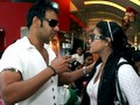 Kajol TEACHES  Ajay Devgan a lesson