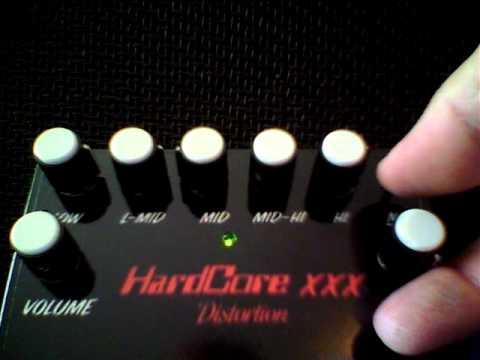 Hard core xxx pedal with les Paul
