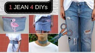 1 Pantolondan  4 DIY!!!👖