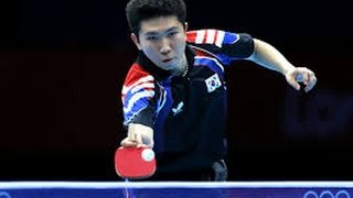 Ryu Seung Min - The Best Footwork Of All Time (Traditional Penhold King)