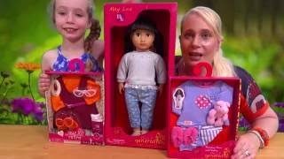 Our Generation Doll - May Lee and Accessories Unboxing