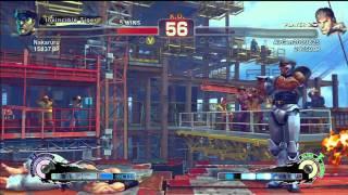 SSF4: Nakaruru (M. Bison) VS AirGen2009825 (Ryu) - Endless Battle