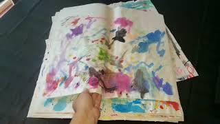 شوفو كفاش حولت رسومات ابنتي الى تحفة فنية لا تقدر بثمن The greatest masterpiece in the world