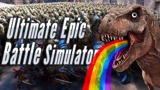 SANTA VS ZOMBIES - Ultimate Epic Battle Simulator Gameplay