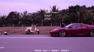 Filem Pendek Ustaz Azhar -Scooter Vs Ferrari