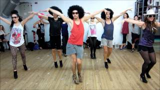 "YANIS MARSHALL CHOREOGRAPHY  ""SHAKE YOUR GROOVE THING"" PEACHES & HERB HEEL"