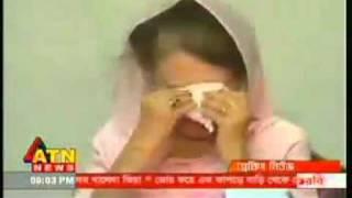 Begum Khaleda Zia Crying - 13 November 2010