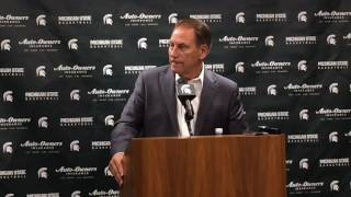 Tom Izzo talks early challenges, impending inpact of Miles Bridges, Josh Langford