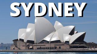 City break visit Sydney Australia 2017 holiday vacation travel tour video