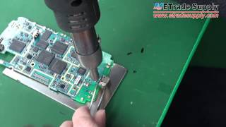 How to replace the fixed charging port