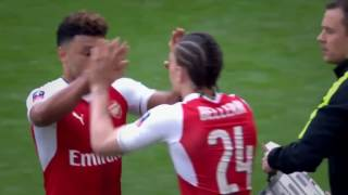 Oxlade-Chamberlain vs Manchester City FA Cup Semi-Final