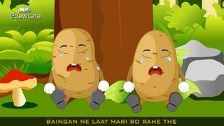 Edewcate Hindi Rhymes - Aloo Kachaloo Beta Kahan gaye the