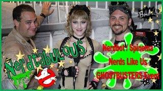 #NERDTABULOUS - NERDBOT Ghostbusters Movie Night Celebration