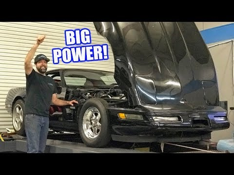 My Dads Legendary Corvette Hits The Dyno After 20 Years What Will It Make