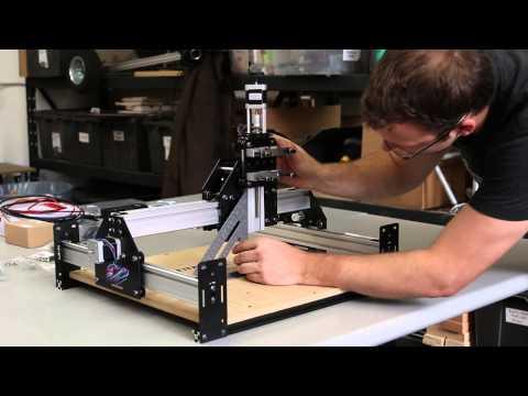 Shapeoko 2 Works Kit Tutorial Desktop CNC 3D Carver Router by Inventables