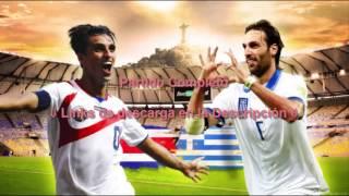 Costa Rica vs Grecia Brasil 2014 Octavos de Final Partido Completo HD