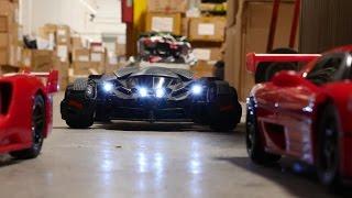 RC Battle: Ferrari F50 & FXX Vs Batmobile