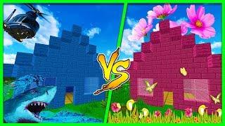 Minecraft - BOY HOUSE VS GIRL HOUSE! (Boys Vs Girls)