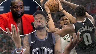 NO BLAKE GRIFFIN!? SHOULD OF LET WADE IN MAN! BUCKS vs PISTONS GAME 1 & 2 NBA PLAYOFFS  HIGHLIGHTS